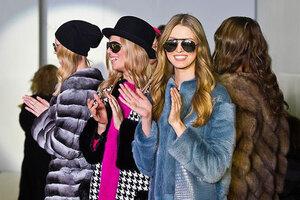 Норковая шуба для любимой — тренды 2014 года