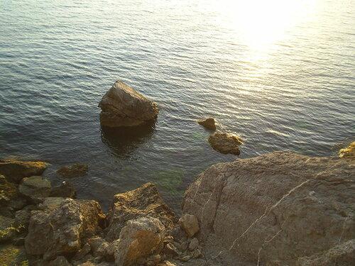 Черное море в Судаке
