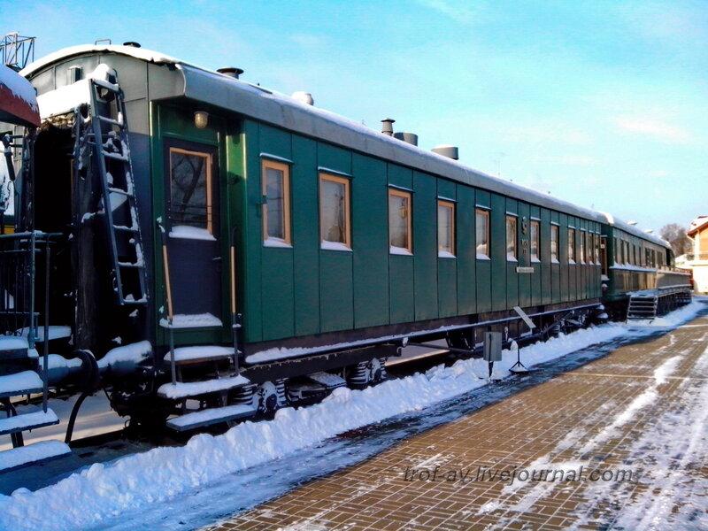 Пассажирский четырехосный вагон, Музей РЖД, Москва