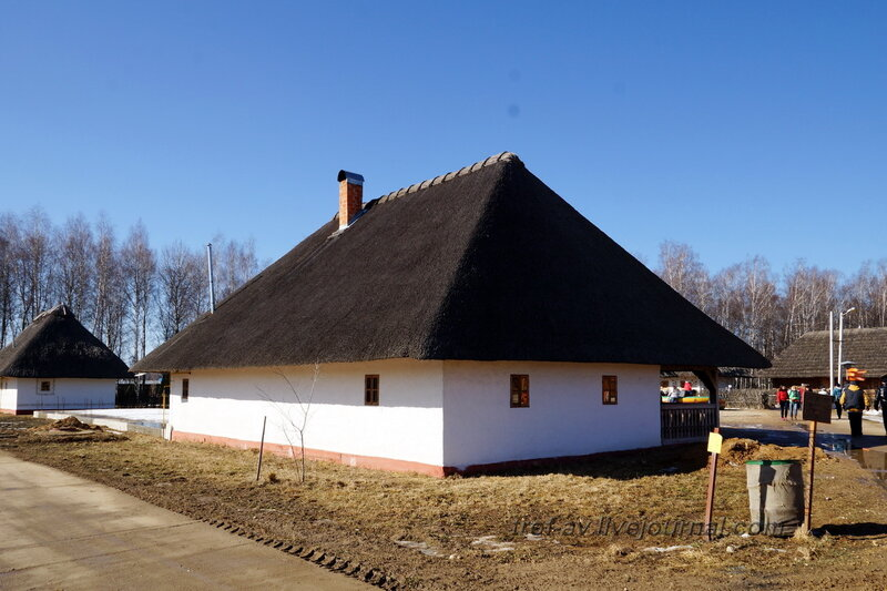 Украинская мазанка, Этномир, Калужская обл.