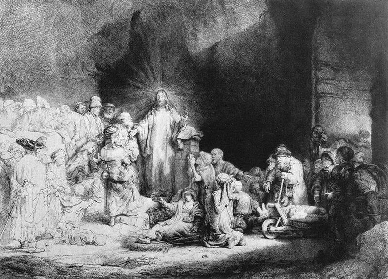 Маленькие дети, пришедшие к Иисусу. 1647- 1649.