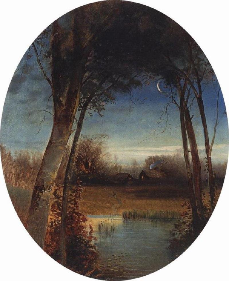 Речной пейзаж, 1880-1890-е.jpg