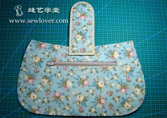 Шьем сумку из ткани