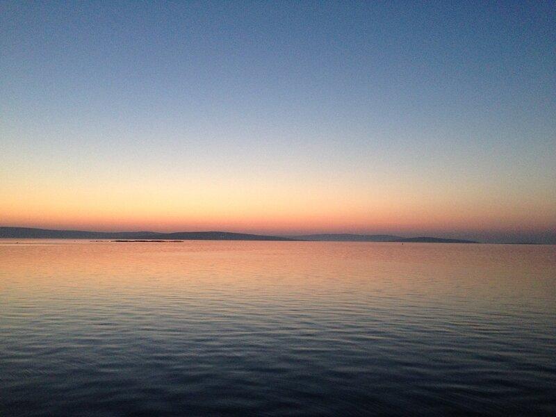Оркнейский закат