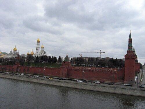 Вид с Большого Москворецкого моста