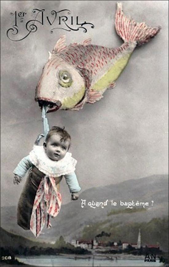 1 апреля. Рыба и дитя