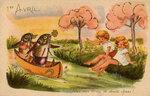 1 АПРЕЛЯ. Рыбы и дети открытки фото рисунки картинки поздравления