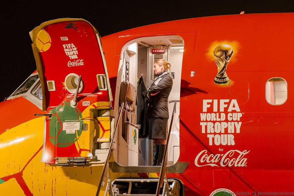 McDonnell Douglas MD-83. Встречаем FIFA World Cup™ Trophy в Красноярске!