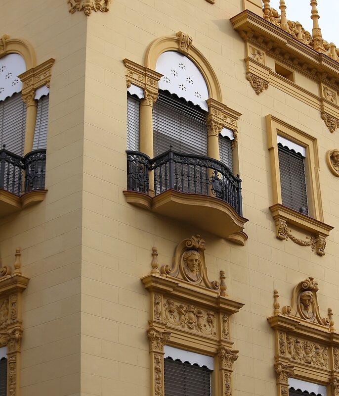 Castellon de La Plana. The old casino. Casino Antiguo. Castellon de la Plana