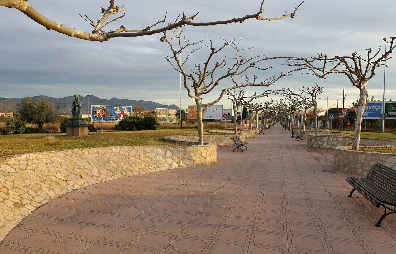 Castellon de La Plana, Avenida de la Mare de Déu del Lledó