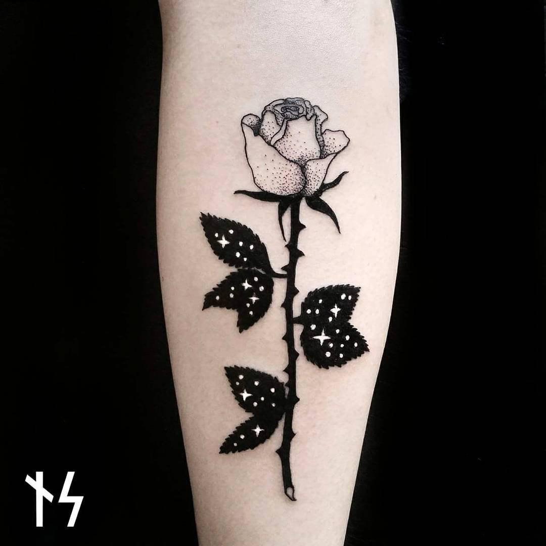 Звёздные татуировки от Nik Square