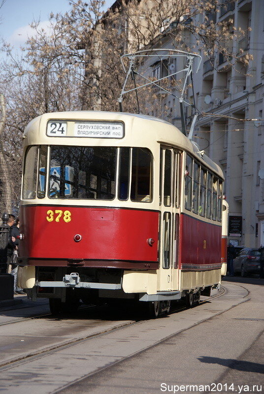 Трамвай Татра Т-3 SU