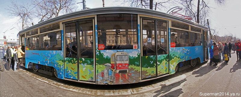 115 лет Московскому трамваю