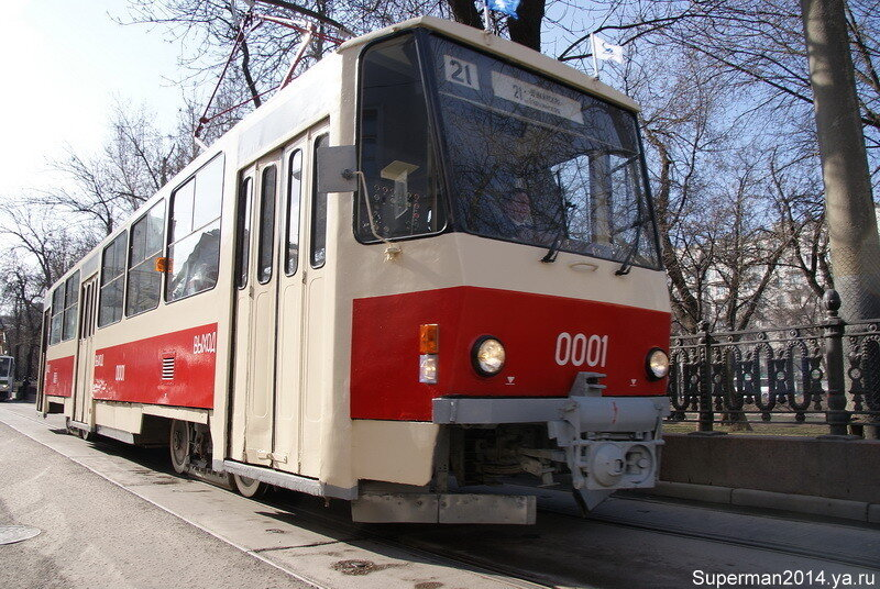 Трамвай Татра Т-6 В5