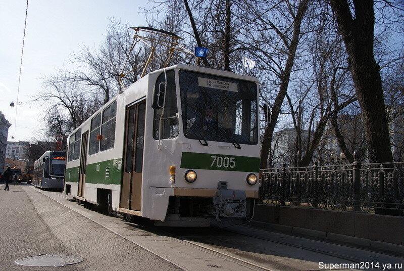 Трамвай Татра Т-7 В5