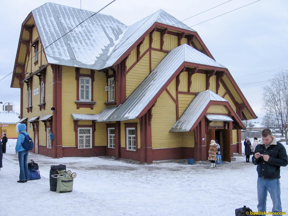 Станция Обозерская. Январь 2007.