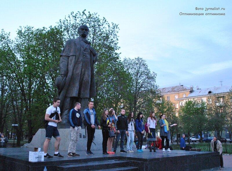 бандеровцы луганск заря карпаты