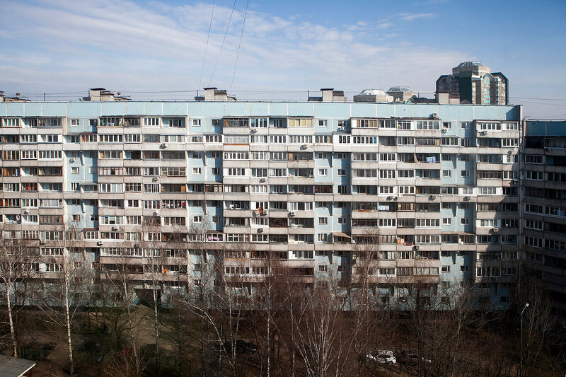frame-and-panel houses in Moscow