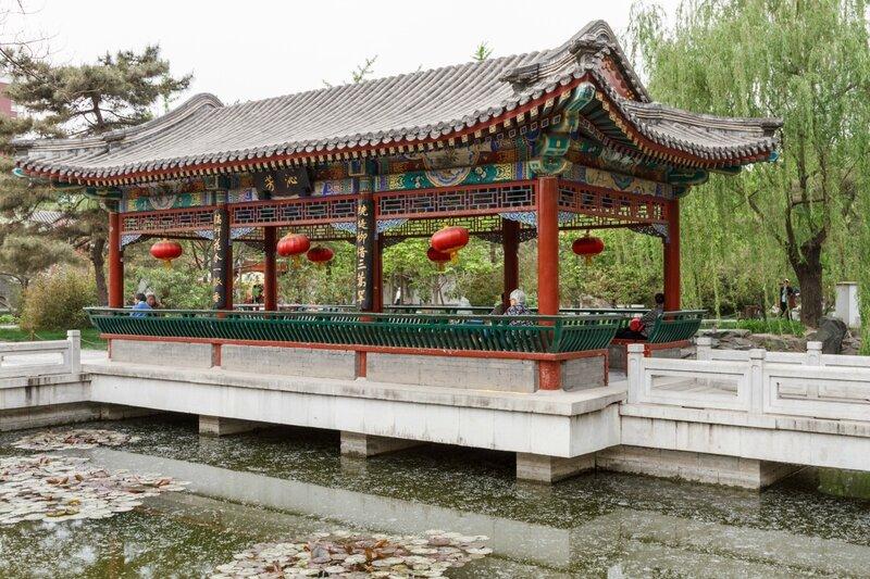 Павильон, парк Дагуаньюань, Пекин