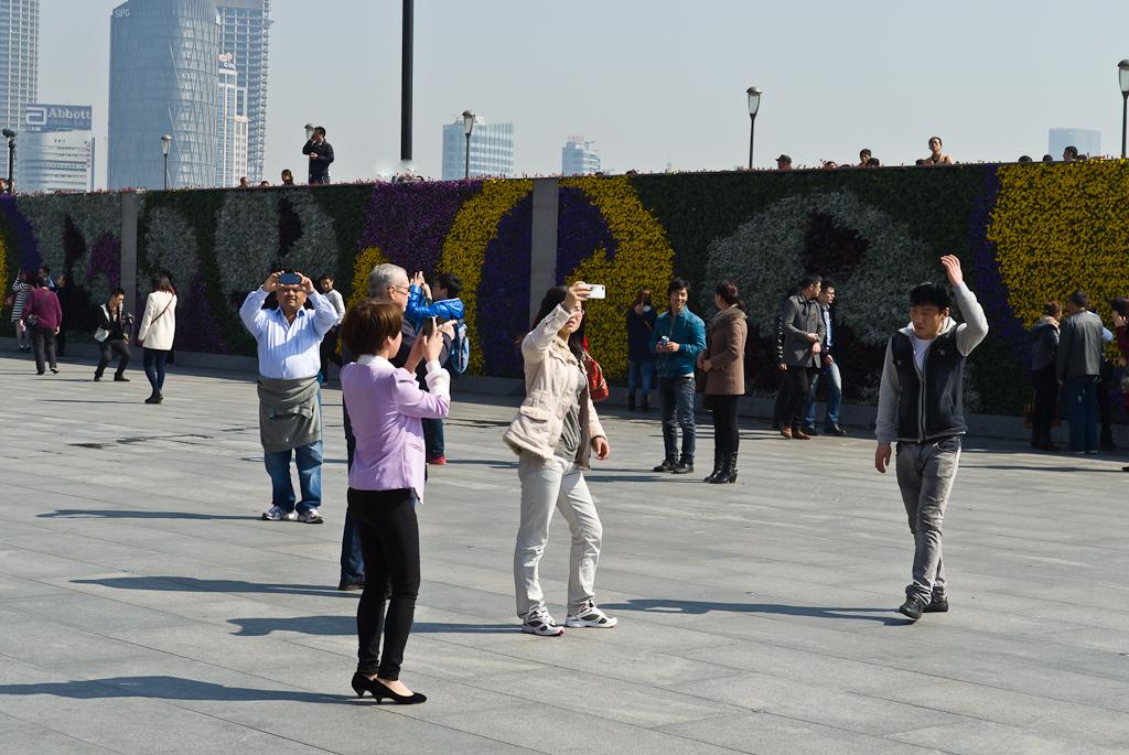 9. Собрание фотографов в Шанхае. Подходим к набережной Бунд. Отчет о поездке в Китай.