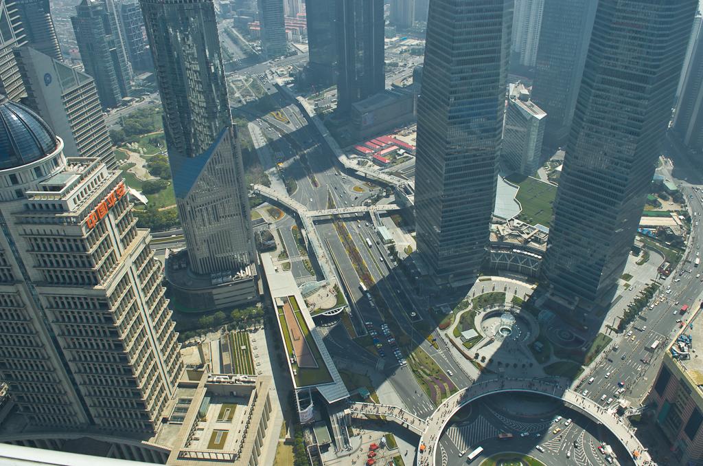 19. Развязка в финансовом центре Шанхая. Путешествуем по Китаю самостоятельно.