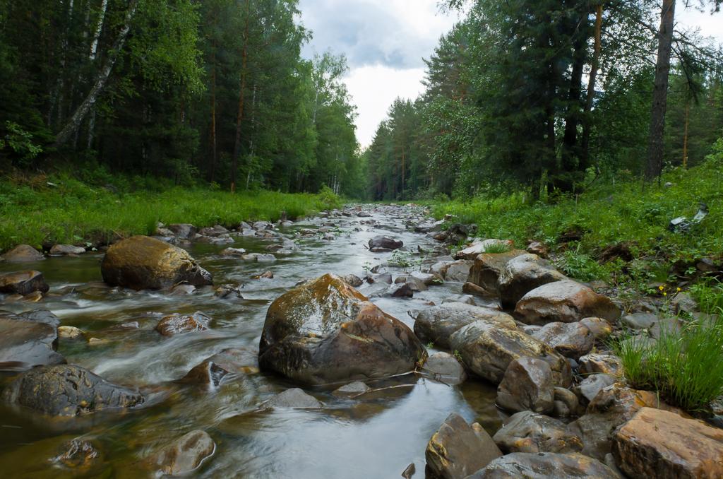 4. Таёжная река Нура. Отдых в горах Башкирии