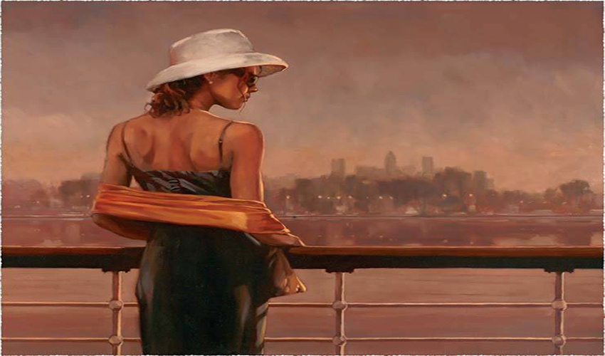 Painting by Mark Spain