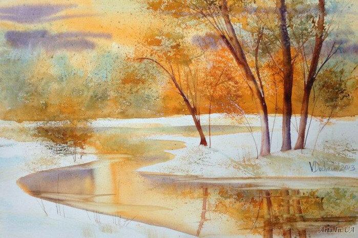 Мы два берега у одной реки. Художница Венета Дочева