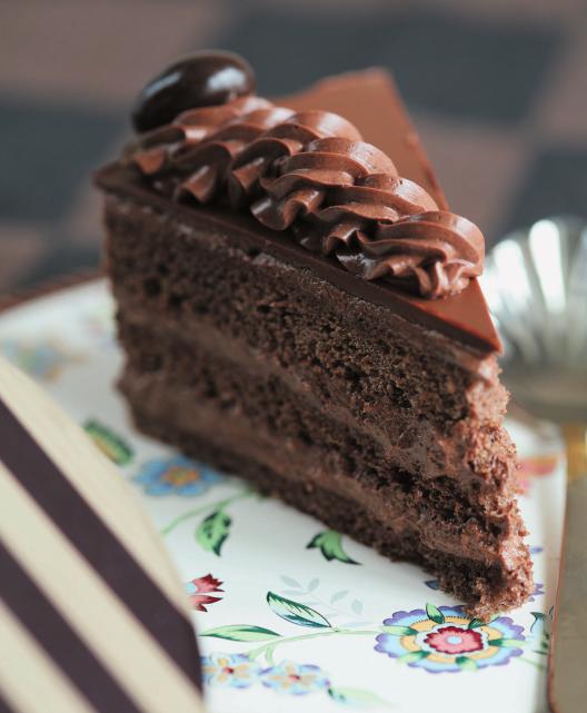 673 шоколадный торт по госту