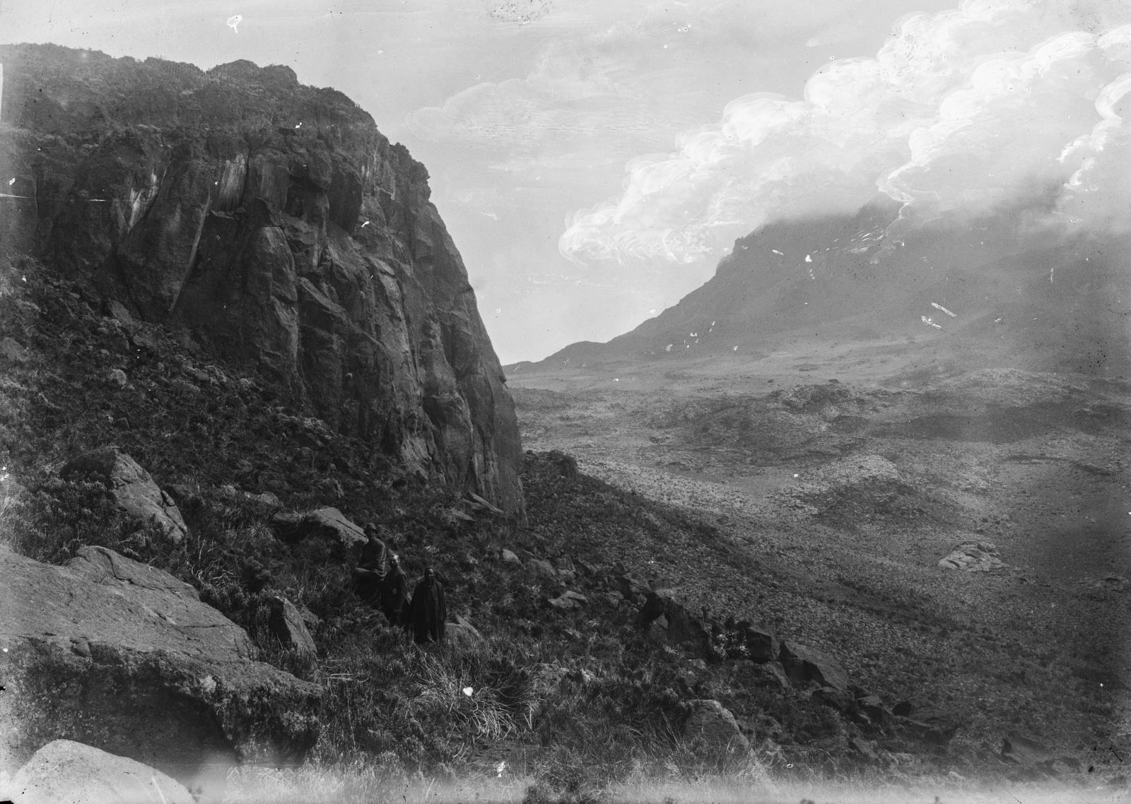 367. Вид Килиманджаро из Мавензи