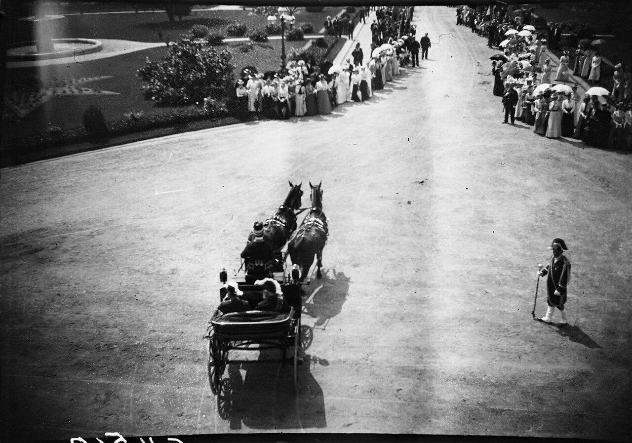 1900. Экипаж в Карлсруэ