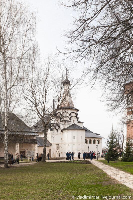 Церковь Успения Пресвятой Богородицы Спасо-Евфимиева монастыря в Суздале