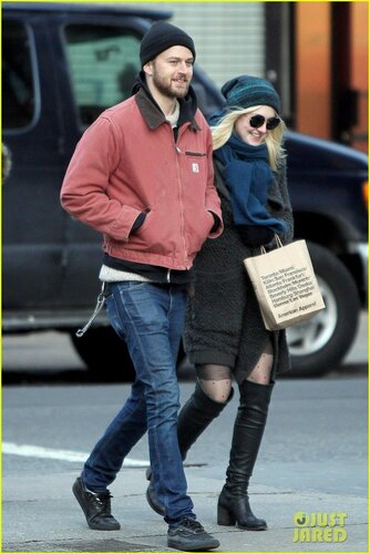 Dakota Fanning and Jamie Strachan are American Apparel Shoppers **USA, Canada, Australia ONLY**