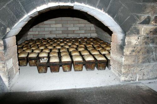 Печь для хлеба из кирпича