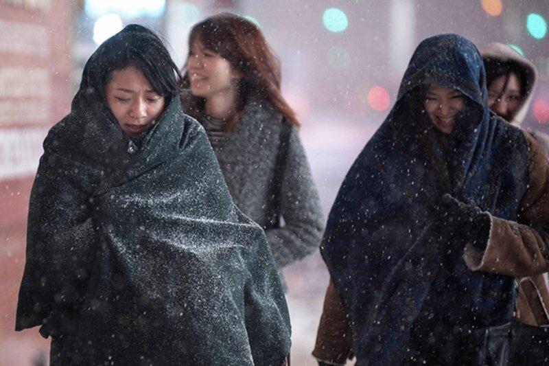 На США обрушатся 50-градусные морозы