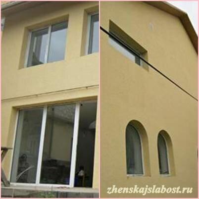 фото нового дома Ирины с двух сторон