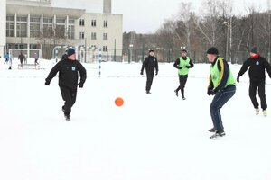 Чемпионат города Заречного по мини-футболу на снегу