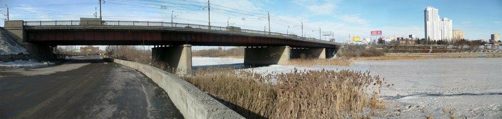 Мост по Свердловскому проспекту (фото ssgen) (23.01.2014)