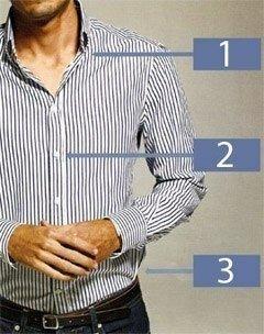 Идеальная посадка рубашки