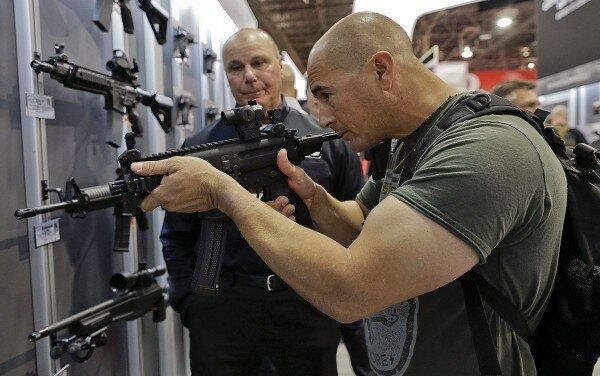 лас вегас выставка оружия автомат