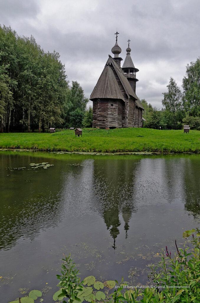 деревянная кострома в фотографиях