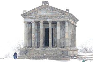 Храм Гарни - армянский языческий Парфенон