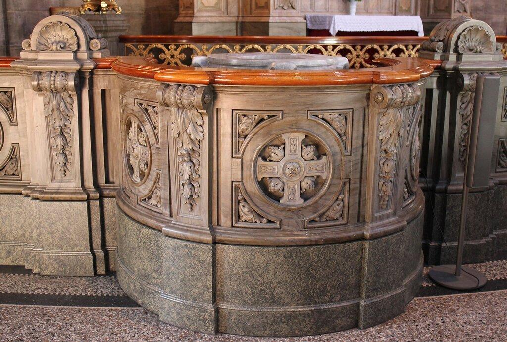 Копенгаген. Церковь Фредерика или Мраморная церковь (Frederiks Kirke, Marmorkirken). Интерьеры