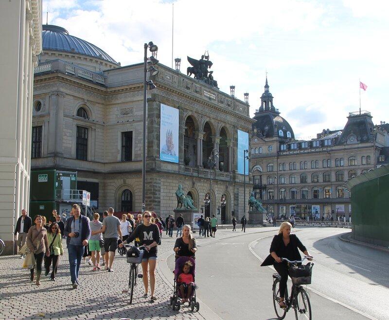Copenhagen, Theatre Royal. Det Kongelige Teater. Copenhagen, Kongens Nytorv