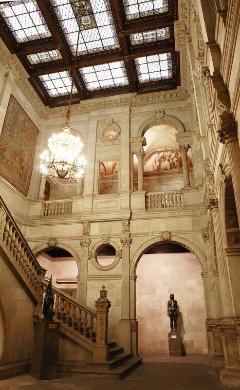 Barcelona. The government Palace of Catalonia. Palacio de la Generalidad