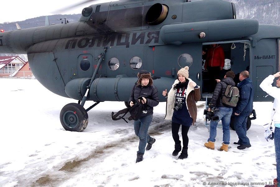 Олимпийский объекты Сочи 2014. Вертолет. Ксения Виноградова.