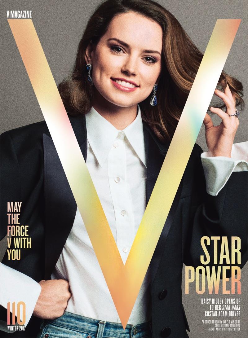 Дэйзи Ридли в V Magazine (6 фото)