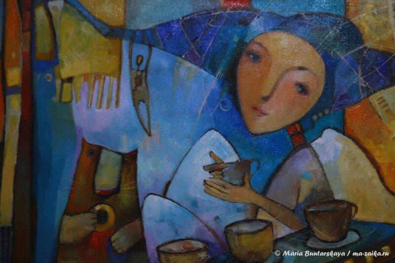 Выставка Екатерины Федуловой 'Ласкоттэ', Саратов, кофейня 'Кофе и Шоколад', 12 декабря 2013 года