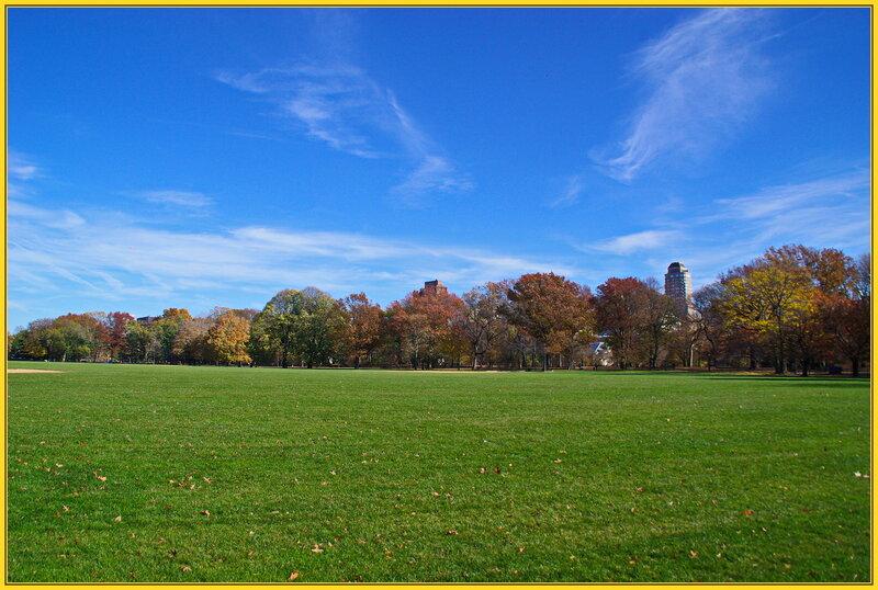 В Центральном парке Нью-Йорка