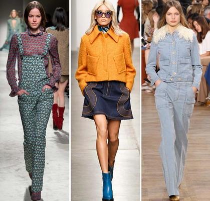 Стиль 70-х модная тенденция осени